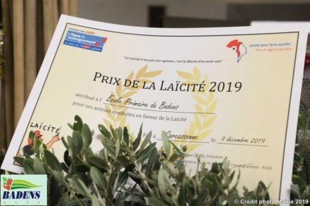 01 - Prix De La Laïcité 2019
