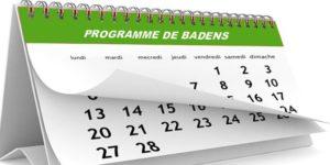 Mairie de Badens - Logo de l'agenda des manifestations