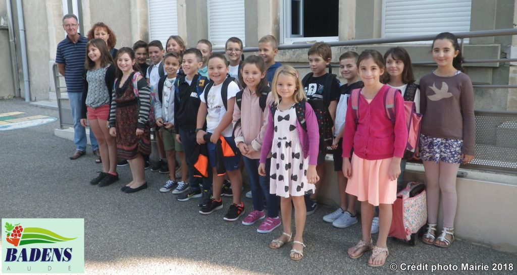 enfants des ecoles de Badens