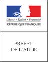 Mairie de Badens - Logo de la préfecture de l'aude