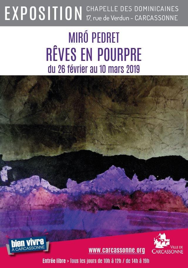 Affiche de l'artiste peintre Miro Perdret de Badens
